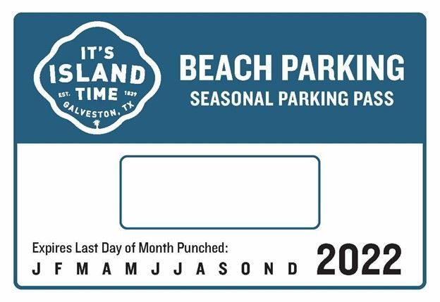 Seasonal Parking Pass 2021-2022